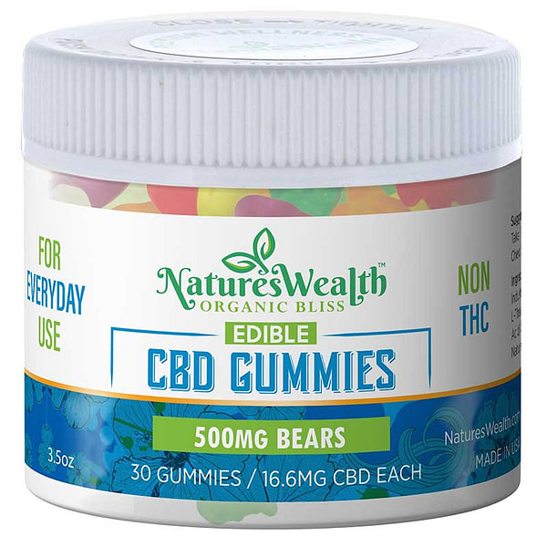 Natures Wealth 500mg Gummy Bears